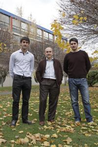 Eduardo Jaunsaras, Ignacio Mat�as and Juan Manuel Galindo, UPNA