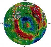 Vesta Southern Hemisphere