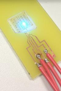 A GaN LED