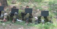 Soldiers Performing Task