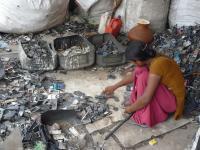Handyrecycling Indien