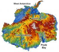 Antarctica's Topography