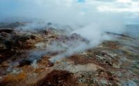 Volcanic Mountaneous Area near Reykjavik, Iceland