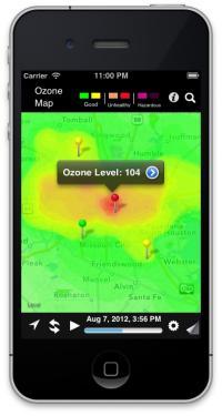 OzoneMap