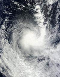 Cyclone Imelda Turned the Corner on NASA Satellite Imagery (2 of 2)