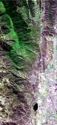 HyspIRI Airborne Campaign Overflew California's San Andreas Fault