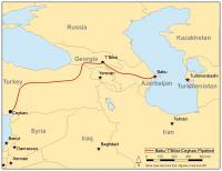 The Baku-Tbilisi-Ceyhan Pipeline