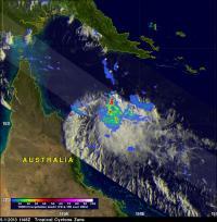 TRMM Image of Zane