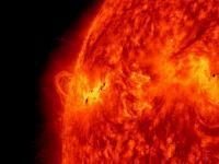 NASA's Solar Dynamics Observatory Captured  the X1.2 Class Solar Flare