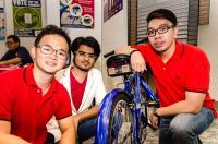 BikeSense, a Rear Proximity Sensor System