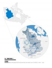 Mackenzie River Basin Map