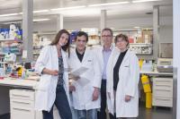 Dr. Delphine Merino, Dr. François Vaillant, Geoff Lindeman and Jane Visvader
