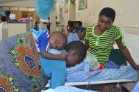 Recovering at Bwaila Maternity Hospital