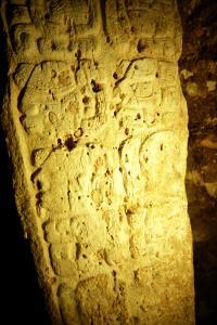 Stela 44 Glyphs -- Maya King Chak Took Ich'aak