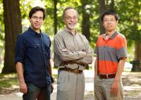 Derek Caetano-Anolles, Gustavo Caetano-Anolles, and Minglei Wang, U. of I at Urbana-Champaign