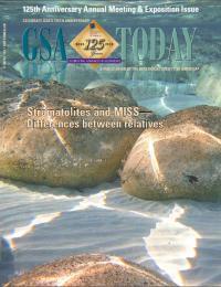 Sept. <i>GSA Today</i> cover