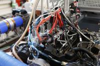 Ultra-Efficient Natural Gas-Diesel Hybrid Engine