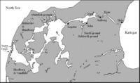Limfjorden Map