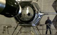 Siana inside Keck Observatory