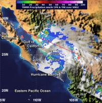 TRMM Sees Hurricane Manuel