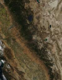 MODIS Sees Rim Fire