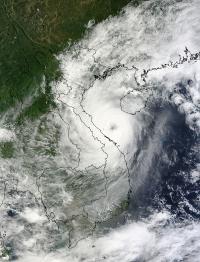 MODIS Sees Wutip