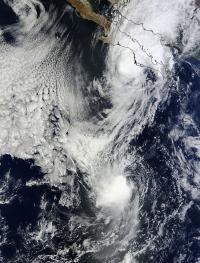 MODIS Sees Priscilla