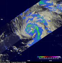 TRMM Image of Lekima