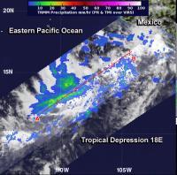 TRMM Image of 18E