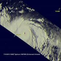 TRMM Flyby of Haiyan