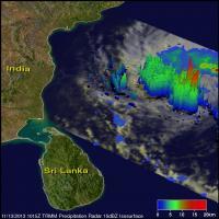 3-D TRMM Image of 30W