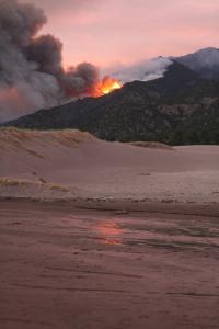 Medano Fire