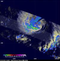 TRMM Image of Melissa