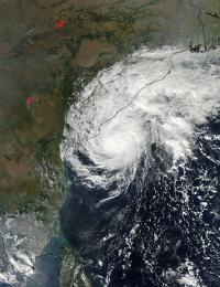 MODIS Image of Helen