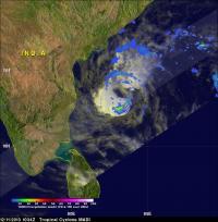 TRMM Image of Madi