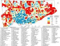Walkability and Density of Toronto Neighborhoods