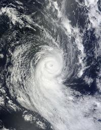 MODIS Image of Ian