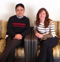 Yang Wang, M.D. and Brenna McDonald, Psy.D., Indiana University