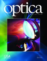 <i>Optica</i> Cover