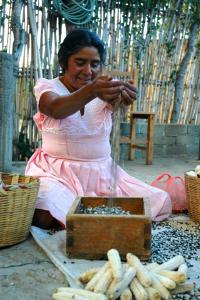Delfina Castellanos, Oaxacan Farmer