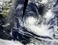 MODIS Image of Fobane