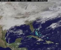 Satellite Video of Feb. 12, 2014, Snowstorm