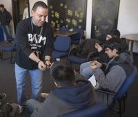 Rico Sanchez, BAM Counseling/Mentoring Session