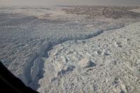 Calving Front of Greenland's Jakobshavn Glacier