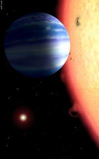 Hot Jupiter Artist's Concept