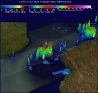 TRMM Sees Remnants of Hellen