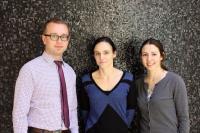 Pawel Buczkowicz, Cynthia Hawkins and Patricia Rakopoulos, University of Toronto