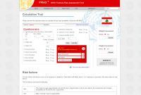 FRAX Calculation Tool Lebanon