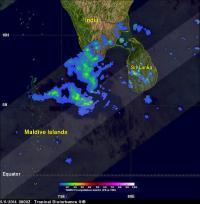 TRMM Image of 91B