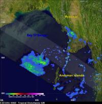 TRMM Image of 92B